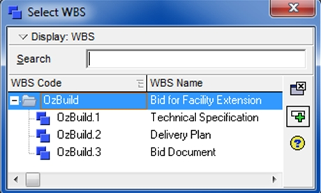 setting wbs activties1